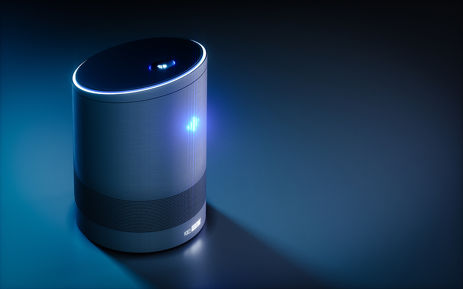 eCommerce Business Ideas an website for smart home intelligent voice activated assistants.